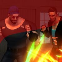 Night Fury - Street Fighter Game