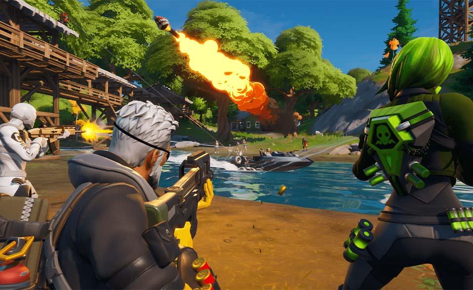 epic games fortnite gameplay