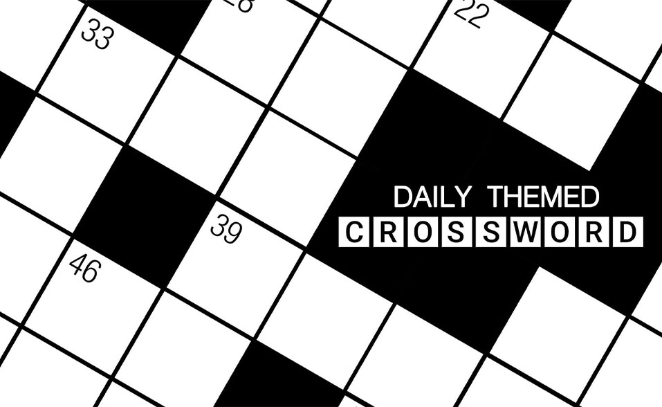 Daily Themed Crossword PlaySimple