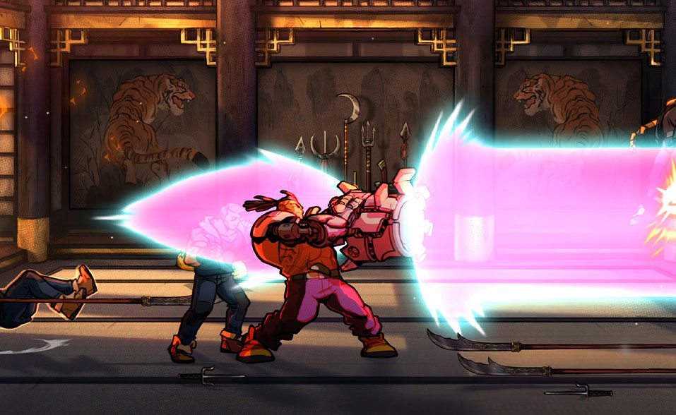 Streets of rage 4 Dotemu Focus Home Interactive