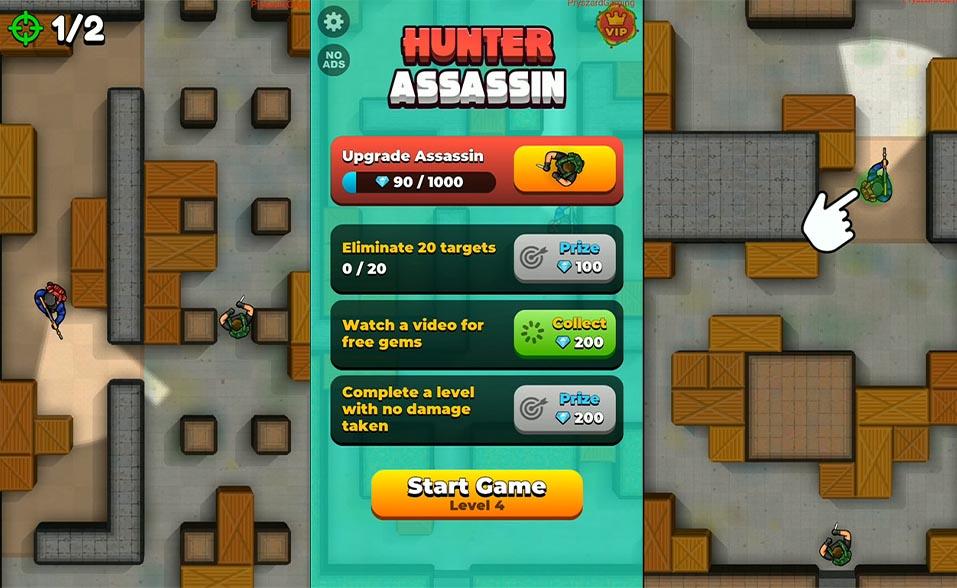 hunter assassin ruby games