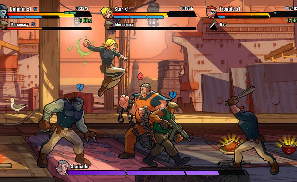 mayhem brawler hero concept