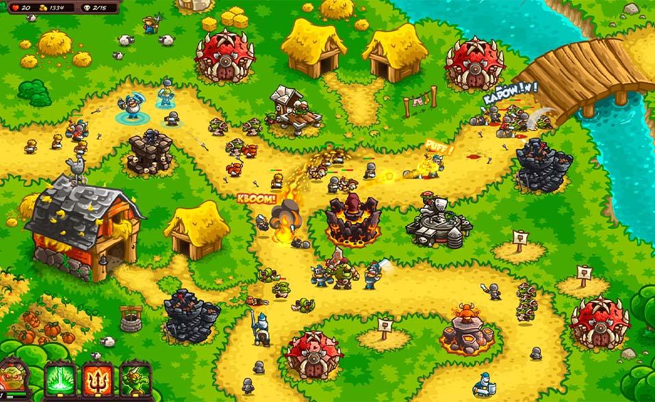 kingdom rush ironhide game studio