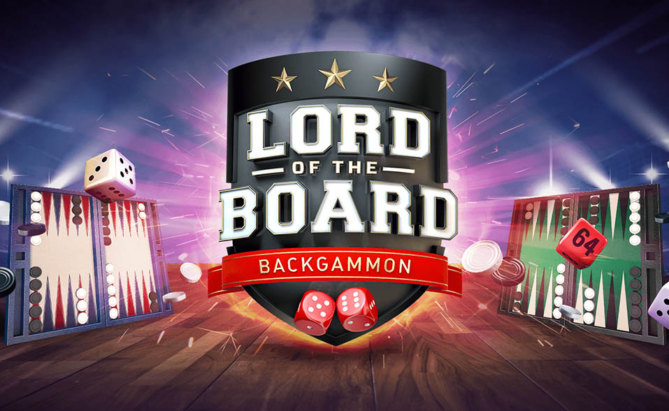 Backgammon Lord of the Board beach Bum